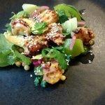 Poulpe, Tomate Verte & Avocat