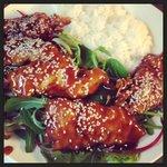 chicken wok with rice