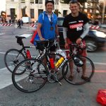 Successful clients completing Italy Ironman 70.3