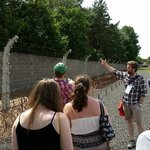 Darren talks through the deathly security at Sachsenhausen.