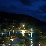 Canyon Cove at night, view from our balcony