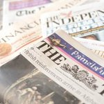 Newspaper delivered to your door each morning