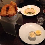 Cod crumbed & chips