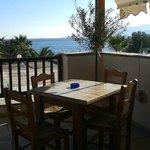 wonderful view of Aegean sea