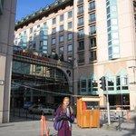 Перед отелем