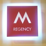 m regency pintu masuk