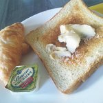 breakfast with quality butter