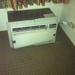 I was afraid to turn on this so called AC unit that was duck taped together