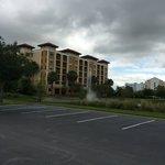 Vista do hotel da International Drive.