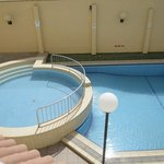 the pool under our balcony