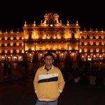 Plaza Mayor a noite
