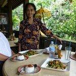 Ibu Putu and her Chicken curry