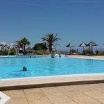 piscina de agua salgada muito agradável