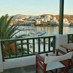 Porto Klaras Studios & Apartments - Θέα από το μπαλκόνι του δωματίου