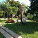 Gardens and hammock