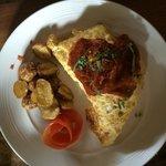 The Om Omelet! Wonderful!