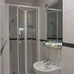 small double room bathroom