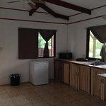 studio upstair kitchen area