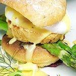 enjoyed the eggs benedict brunch menu