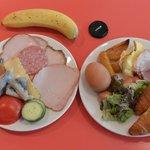 私の食べた朝食の写真です。