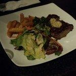 Sirloin steak De Cafe Paris