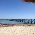 Le ponton de plage 1
