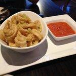 Calamari - The Smoked Tomato Sauce was awesome!