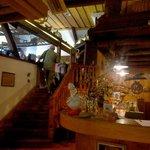 Intérieur du restaurant aux Trois Oies