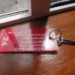 Old school key.  Love it!
