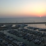 Sunset over the Marina