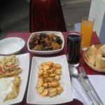 moules frites et raclette