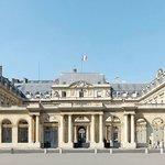 Entrance front of the Palais Royal
