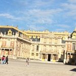 Versailles from the front Gate