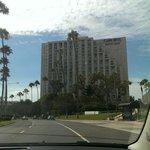 الفندق من الخارج