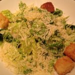 Cesar salad with WaY too much dressing