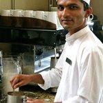 Pradip the best waiter in town!!!!!