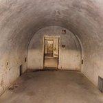 Bunkerküche mit Lagerstätten