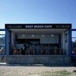 Front view of the cafe