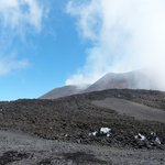 Etna  is smoking