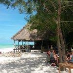 Traumhafte Strandbar