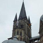 Spitze des Dom in Aachen