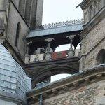 ein Übergang im Dom Aachen