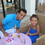 Activité mini-club avec Yasser