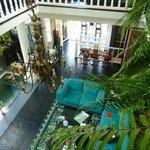 The elegant lobby - Rivera del Rio