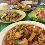Best Thai food in Chaweng, don't miss it, you will love it!
