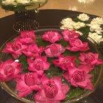 Lotus Flowers in the Lobby