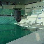 vue de la piscine spa