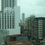 Views of Panama City from the room