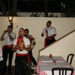 De 4 sicilianske musikere
