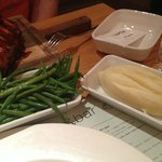Sides - French beans & mash potato